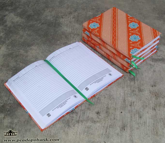 seminar kit buku agenda batik murah