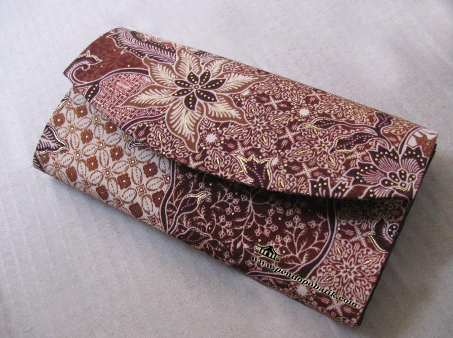 Desain Dompet Batik Souvenir Pernikahan