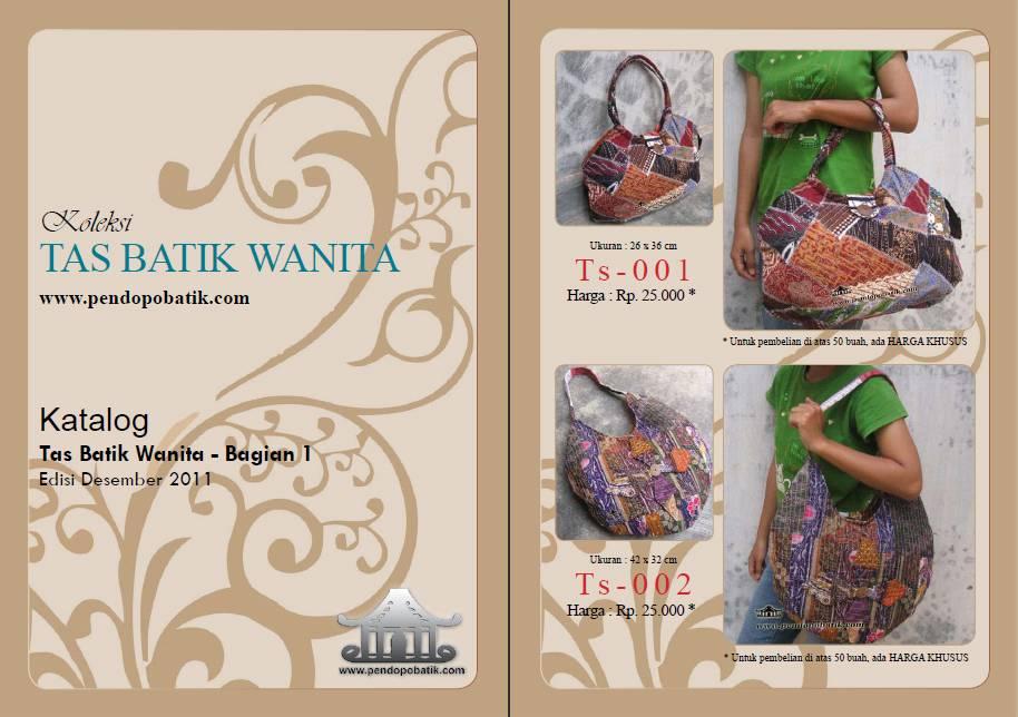 Katalog Tas Batik Wanita Edisi 1