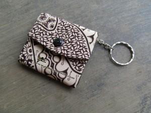 Souvenir Nikah Murah Gantungan Kunci Dompet Batik