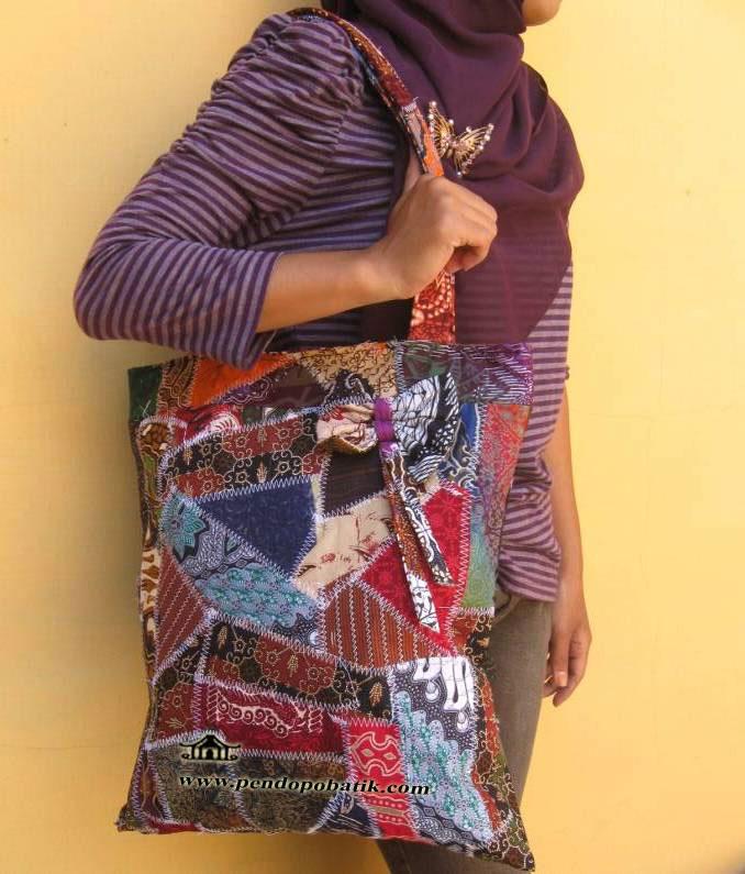 tas batik wanita tas belanja