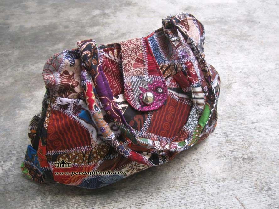Tas Wanita Motif Batik Ts-003