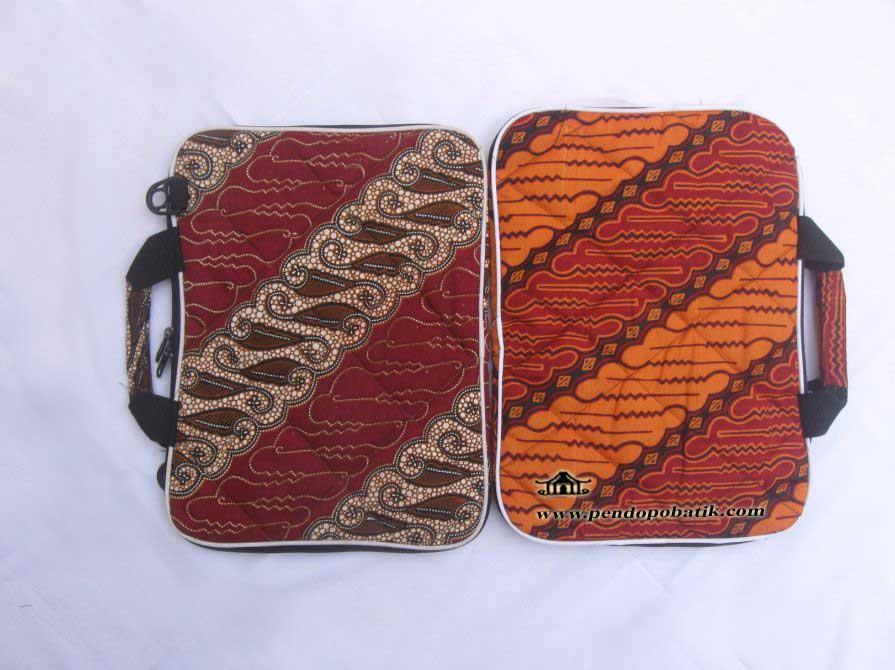 Tas Laptop Batik Lx - 002 (laptop widescreen)