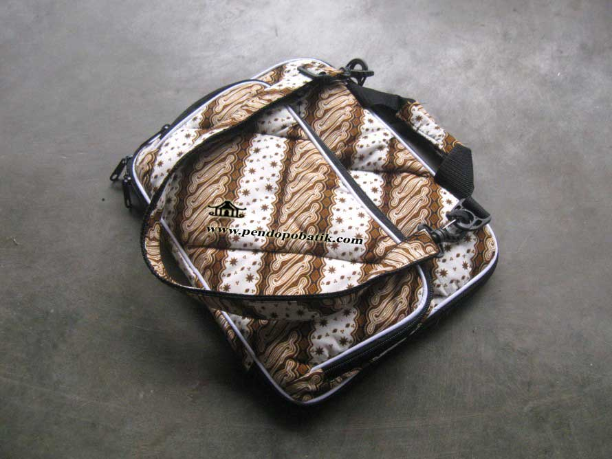 Tas Laptop Widescreen Motif Batik Lx - 003
