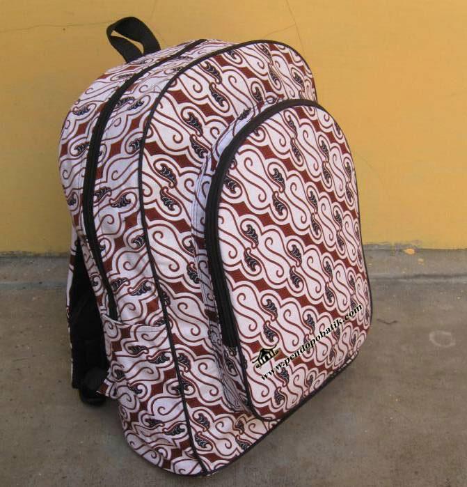 tas ransel batik Tr - 001