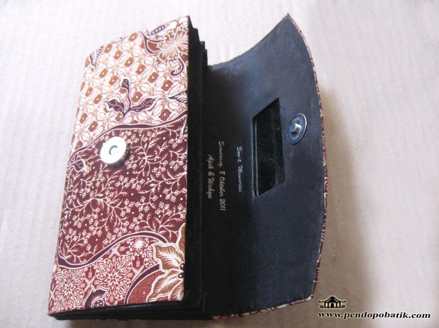 Dompet Batik Plus Cermin dan Sablon