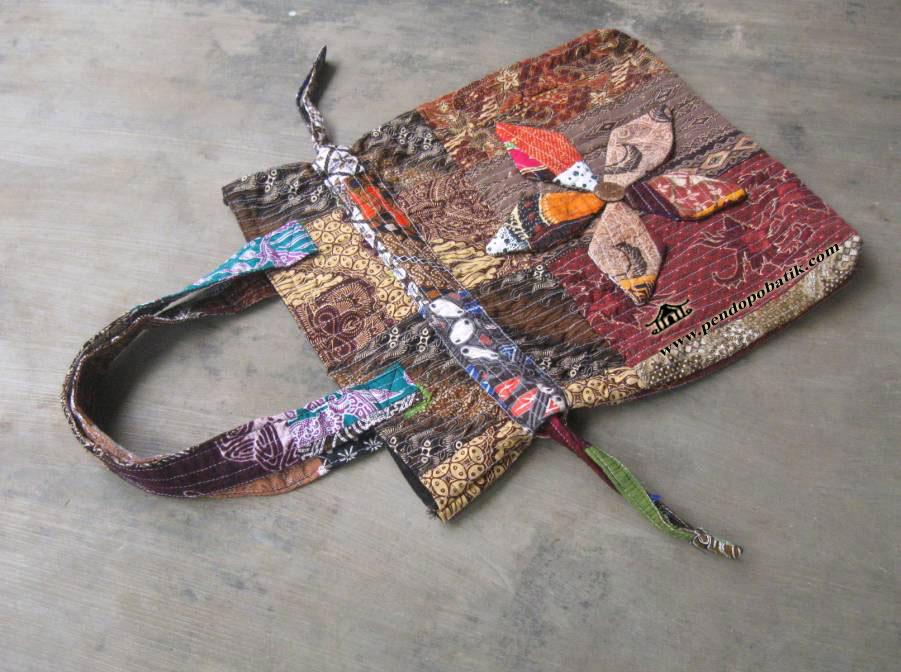 tas sekolah batik