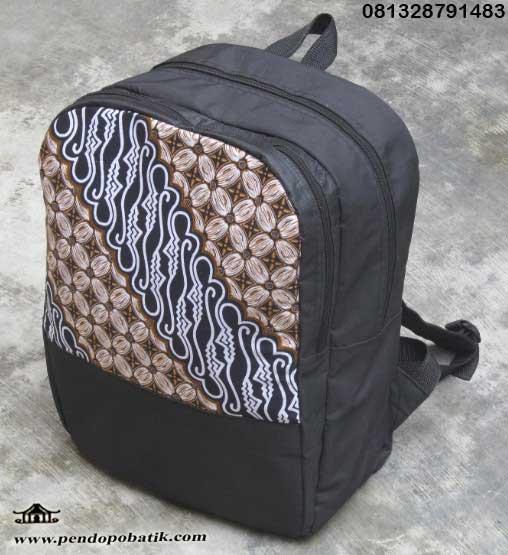 tas ransel laptop batik seminar kit murah
