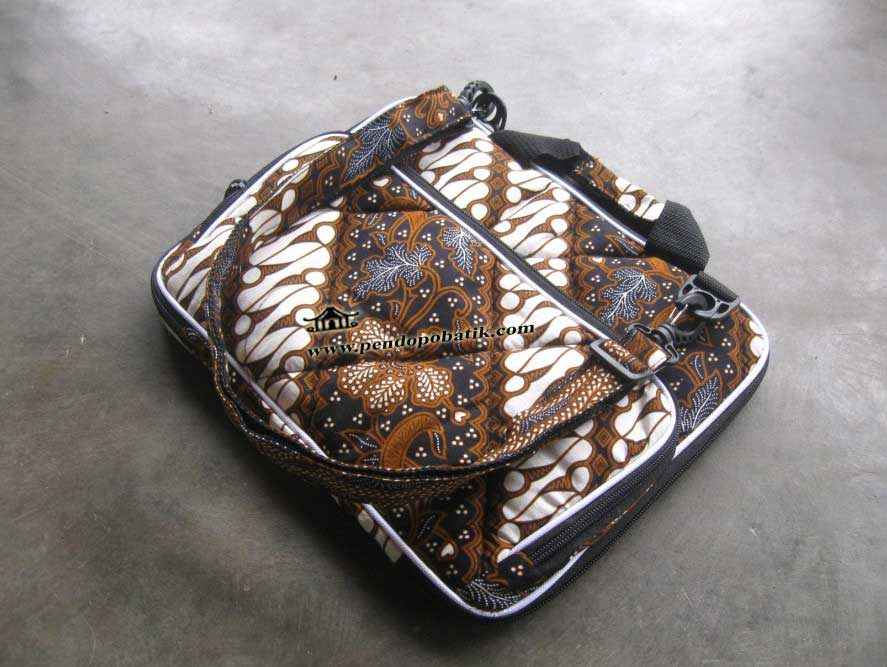 Tas Laptop Widescreen Motif Batik Lx - 003