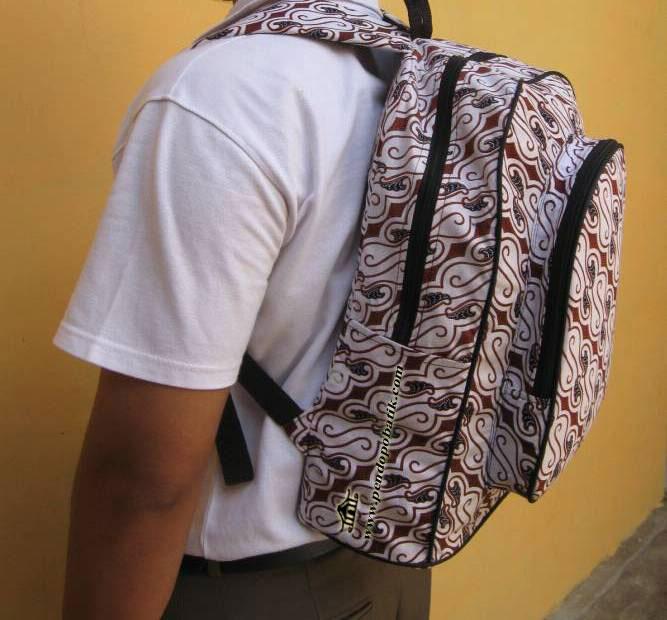 Tas Ransel Batik