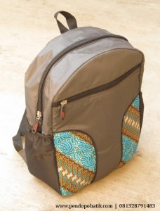 Seminar Kit Tas Ransel Laptop Batik