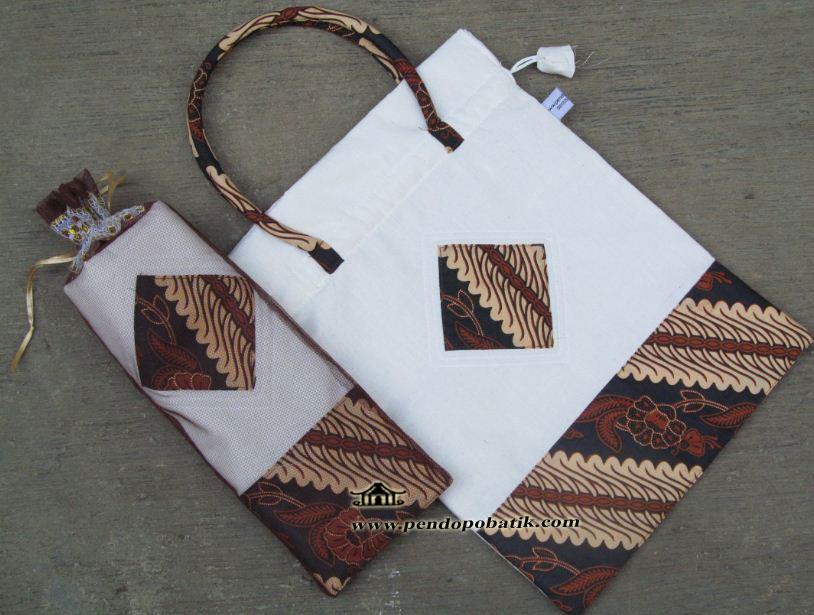 Souvenir Nikah Tas Batik